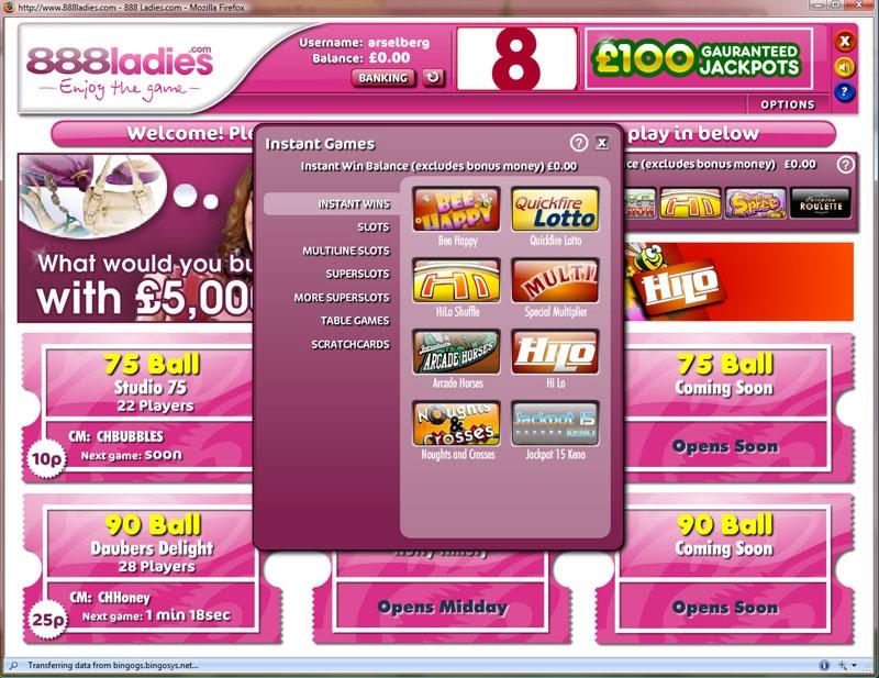 888 Ladies Lobby